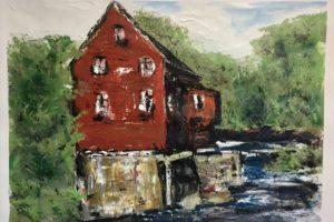 Mill Paintings: Biddeford Maine 2017